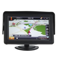 Wholesale High quality new Inch x272 Color TFT LCD Parking Car Rear View Monitor Car Reverse Backup Monitor Reverse Camera DVD order lt no trac