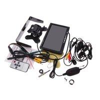Wholesale Universal Auto Car quot LCD Monitor Wireless Car Rear View Camera Kit Mini Camera Transmitter Receiver Set order lt no track