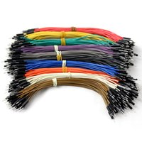 Wholesale New pin cm male to male Dupont cable Wire Color Jumper Cable For Arduino