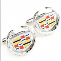 unique jewelry - French Shirt Laser Engraving Men Jewelry Unique Wedding Groom Men Cuff Links Business Cufflinks For Mens Cadillac