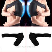 Wholesale New Sports Magnetic Single Shoulder Brace Support Strap Wrap Belt Band Pad Shoulder Care Bandage Black