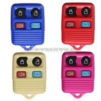 Wholesale New Rubber Pad Button Remote Key Shell Fob Case Colour Replacement For Ford order lt no tracking