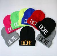 vendita calda Beanie di inverno Hip Hop a maglia Cap uomini donne ricamate Wool Cap cappello di lana alla moda del DHL il trasporto libero