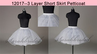 Wholesale 2014 Ball Gown Short Petticoat Layer Hopeless Tulle Netting Nylon Bridal Gown Wedding Dress Short Underskirt Crinoline Skirt Slip
