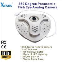 Wholesale 1100TVL Fisheye Panoramic degree analog IR dome Camera LED night vision indoor security surveillance cctv camera
