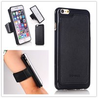 armed forces band - Brand new Magnetic force Mobile arm band Motion Armband Strong adsorption Open up a new era armband For iPhone5 S iPhone6 G plus