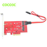 Wholesale in PCIe x to B Key NGFF SSD Suitable for intel NGW WiFi amp Bluetooth SATA to M Key M SSD adapter
