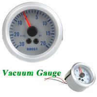 Wholesale Turbo Boost Vacuum Gauge Meter for Auto Car quot mm in Hg PSI Orange Light