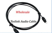 Wholesale M M M M M Optical Fiber Optic Toslink Digital Audio Cable HZ DHL