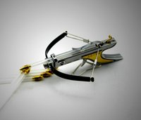 archery bows arrows - mini crossbow Hunting bow arrow Have fun shooting stuff Stainless Powerful Slingshot Toy Model archery