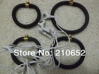 Cheap Free shipping DHL Cock Enlargers,sex toys for men,Penis Shock pulse Toleto erection attachment 4 rings+1wires for Enhancement,