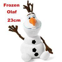 Wholesale 100pcs cm Frozen Olaf Snowman Plush Toys Dolls For Kids Baby Children Christmas Gift