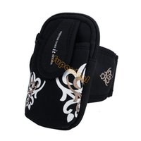 Wholesale Suitable New Arrival Outdoor Sports Package Running Arm Wrist Phone Bag Pack Bag Purse Fitness B16 SV005421