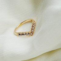 beak band - Hot Selling Charming Gold Silver Plated Alloy Rhinestone Inlay Beak Rings Women Jewelry Engagement Party