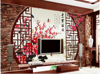 Wholesale Papel de parede Titoni D backdrop non woven wallpaper new large murals costomize size Free fast shipping y