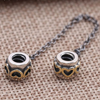 Wholesale Pandora Sterling Silver Bead Big Hole Charms For Jewelry Making Pandora Charms Silver Original Beads for Bracelets DIY PA0001