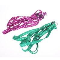 Wholesale Cu Brand New Nylon Pet Cat Doggie Puppy Leashes Lead Harness Belt Rope Hot Sell