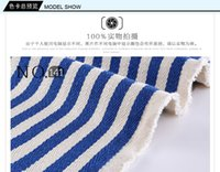 Wholesale Healthy living museum Thickening linen cotton and linen yarn dyed fabric stripe sofa cover curtain cloth fabric decoration