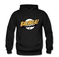 Men bazinga hoodie - new autumn and winter sweater hoodie men and women The Big Bang Sheldon Bazinga sweatershirt pullover jacket