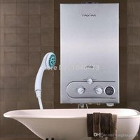 hot water heater - USA L GAS LPG Propane Hot Water Heater Tankless Stainless Instant Boiler With Shower Head A3