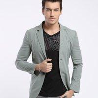Wholesale Fall New Brand Geben Blazer Men Suits For Mens Black Business Fashion Coats Men s Blazers Suit Jackets S XL