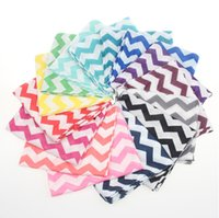 Wholesale Women Adult Scarf Girls Chevron Scarves Bulk Zig Zag Kids Infinity Scarves