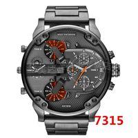 Wholesale 2015 New DZ7313 MONTRE High Quality Atmos Clock Men Watch rejoles Waterproof Military Sport Quartz Watches DZ Watch relogio