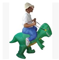 Wholesale Adult Fancy Costume for Marathon Inflatable Mascot Costume Dinosaur