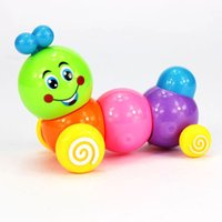 Wholesale Kids Child Develepmental Toy Movement Caterpillar Plastic Toys Wind up Toys Gift