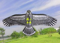 Wholesale NEW Huge m Eagle Kite single line Novelty animal Kites Children s toys