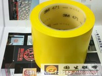 adhesive floor marking tape - M yellow ground marking tape warning tape security adhesive tape color floor mm width M eters long