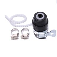 Wholesale 1pc Home Car Wash Gun Water Pipe Gun Sprayer Nozzle Joint Lock Tube Style Quick Connnect Hot DP677890