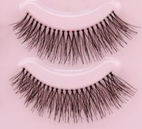 best natural looking false eyelashes - Best Looking Natural Long False Eyelashes Demi Fake Eyelash Extension pairs Eye Lashes Makeup Tool Freeshipping F6