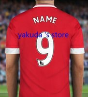 Wholesale Customized Soccer Jerseys Thai Quality Select Home Away rd Away Jersey to Create Your Own Football Jerseys Soccer Jersey