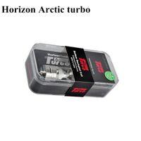 Horizon Arctic Turbo sub ohm Tanque 4ml BTDC sextuplet bobina Top Refill Sub Ohm atomizador 1: 1 clon de apoyo 40-120w caja mod