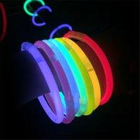Wholesale Led Flashligh LED Lighting Glow Stick Bracelet Neon Party LED Flashing Light Stick Wand Novelty Toy LED Vocal Concert LED Flash Sticks