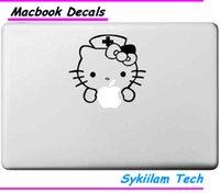 hello kitty laptop skin - Cartoon for Hello Kitty White Nurse for apple Sticker Macbook Skin Air Pro Retina Decal Laptop Car Vinyl Logo