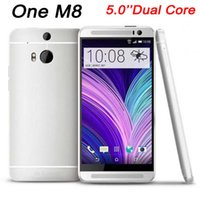 Wholesale HDC One M8 Smartphone Inch Dual Core MTK6572 Android MP Camera MB RAM GB ROM Single SIM Support GPS WIFI G WCDMA Unlocked