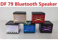 achat en gros de mini-mp3 acheter-DF 79 DF-79 mini haut-parleur portatif mains libres HIFI haut-parleur Bluetooth pour tablette note4 téléphone LG HTC Q88 MP3 / 4 PSP