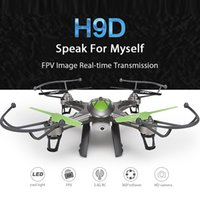 aircraft hobby - perfessional RC helicopter mini drone syma H9D G axis creative quadcopter remote control aircraft gift hobby helicopter