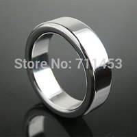 Cheap Big Penis Cock Delay Rings Metal Stainless Steel Chastity Cockring Sex Toys For Man Ball Stretching Smart Cook Ring Dildo Sock