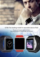 apple tft - GT08 Bluetooth fitbit Smart Watch inch D HD TFT Screen MTK6260A Support Camera Pedometer Smartwatch Thanksgiving gift