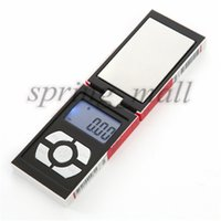 Cheap 50 Pieces 100g x 0.01g Digital Pocket Scale Balance Weight Jewelry Scales 0.01 gram Cigarette Case scales Free Shipping Ashley-295