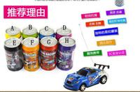 Wholesale christmas gift Mini Racer Remote Control Car Coke Can Mini RC Radio Remote Control Micro Racing Car DHL free