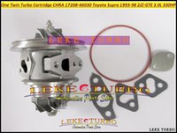 Wholesale One Twin Turbo Cartridge CHRA CT12B CT20 Turbocharger For TOYOTA Supra JZA80 JZ GTE JZGTE L HP