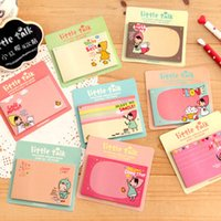 Wholesale C01 new South Korean stationery cute Little Red Riding Hood cookie girl N times posted sticky notes book