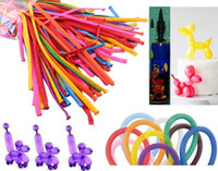 balloon animals pump - 260Q Balloons free pump many colors options party balloon party accessory Party decoration twisting animal balloon kids toys Thickened