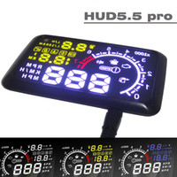 Wholesale EANOP HUD Head Up Display LCD Display V Working Voltage Car Security System With OBDII OBD Interface KM h MPH