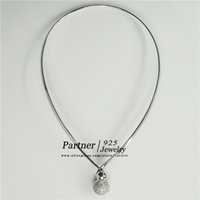 Wholesale 925 Sterling Silver Choker Women Fashion Sexy Clavicle Dress Decoration Necklace Elegant Party Wearing Women Jewelry Girl Gift