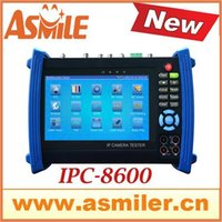 Wholesale New and hot inch touch screen IP camera tester IPC8600 cctv tester from asmile